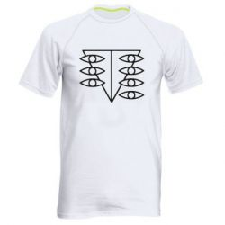 Мужская спортивная футболка Genesis Evangelion Seele logo