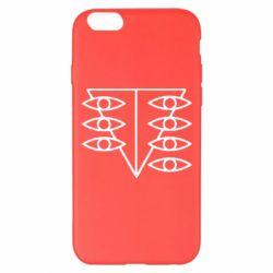 Чехол для iPhone 6 Plus/6S Plus Genesis Evangelion Seele logo