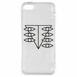 Чехол для iPhone5/5S/SE Genesis Evangelion Seele logo