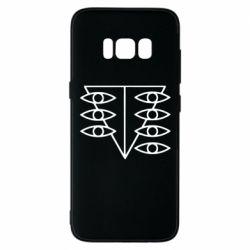 Чехол для Samsung S8 Genesis Evangelion Seele logo