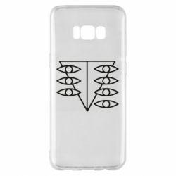 Чехол для Samsung S8+ Genesis Evangelion Seele logo