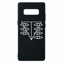 Чехол для Samsung Note 8 Genesis Evangelion Seele logo