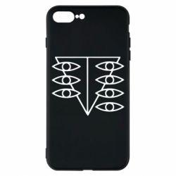 Чехол для iPhone 8 Plus Genesis Evangelion Seele logo
