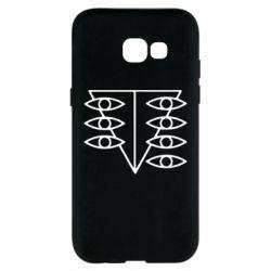 Чехол для Samsung A5 2017 Genesis Evangelion Seele logo