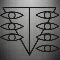Наклейка Genesis Evangelion Seele logo