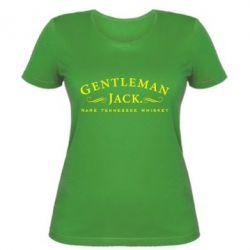 Женская футболка Gentleman Jack - FatLine