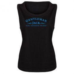 Женская майка Gentleman Jack - FatLine