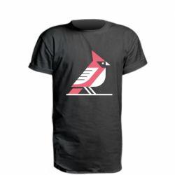 Подовжена футболка Geometric Bird