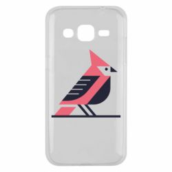 Чохол для Samsung J2 2015 Geometric Bird