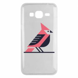 Чохол для Samsung J3 2016 Geometric Bird