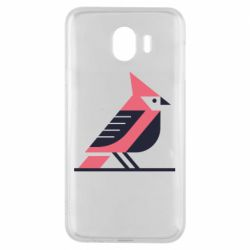 Чохол для Samsung J4 Geometric Bird