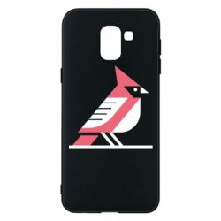 Чохол для Samsung J6 Geometric Bird