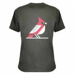 Камуфляжна футболка Geometric Bird