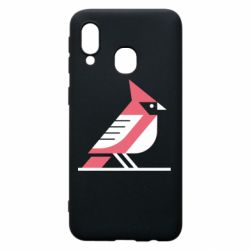 Чохол для Samsung A40 Geometric Bird