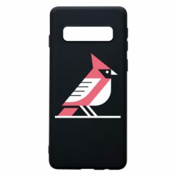 Чохол для Samsung S10 Geometric Bird