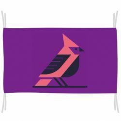 Прапор Geometric Bird