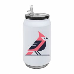 Термобанка 350ml Geometric Bird