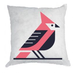 Подушка Geometric Bird