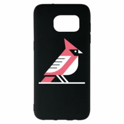 Чохол для Samsung S7 EDGE Geometric Bird