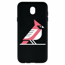 Чохол для Samsung J7 2017 Geometric Bird
