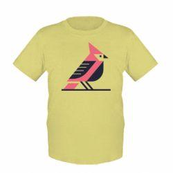 Дитяча футболка Geometric Bird