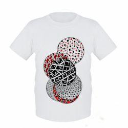 Детская футболка Geometry art