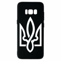 Чехол для Samsung S8 Герб 2 - FatLine