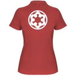 Женская футболка поло Герб Империи - FatLine