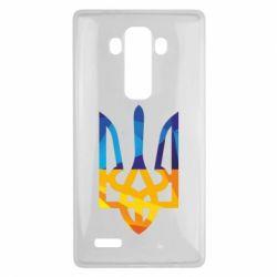 Чехол для LG G4 Герб из ломанных линий - FatLine