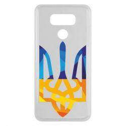 Чехол для LG G6 Герб из ломанных линий - FatLine