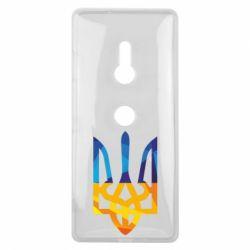 Чехол для Sony Xperia XZ3 Герб из ломанных линий - FatLine