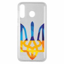 Чехол для Samsung M30 Герб из ломанных линий