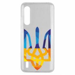 Чехол для Xiaomi Mi9 Lite Герб из ломанных линий