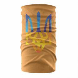 Бандана-труба Герб из ломанных линий