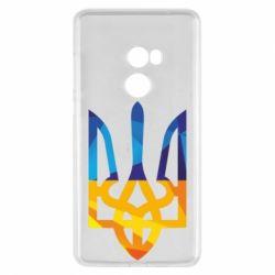 Чехол для Xiaomi Mi Mix 2 Герб из ломанных линий - FatLine