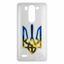 Чехол для LG G3 mini/G3s Герб на фоні прапора - FatLine