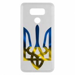 Чехол для LG G6 Герб на фоні прапора - FatLine