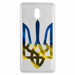 Чехол для Nokia 3 Герб на фоні прапора - FatLine