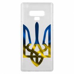 Чехол для Samsung Note 9 Герб на фоні прапора - FatLine