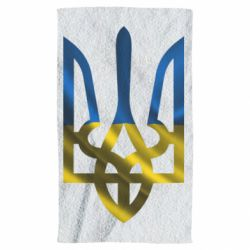 Полотенце Герб на фоні прапора - FatLine
