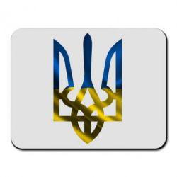 Коврик для мыши Герб на фоні прапора - FatLine