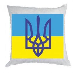 Подушка Герб на прапорі - FatLine