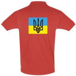 Мужская футболка поло Герб на прапорі