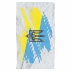 Полотенце Герб на рваному прапорі