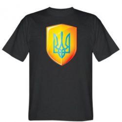 Мужская футболка Герб на щиті - FatLine