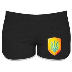 Женские шорты Герб на щиті - FatLine