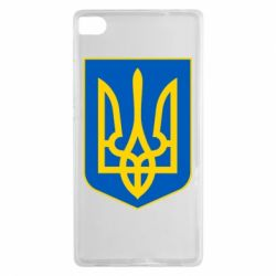 Чехол для Huawei P8 Герб неньки-України - FatLine