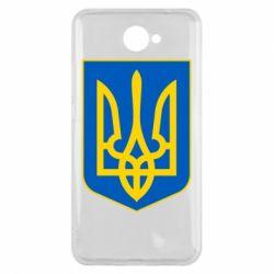 Чехол для Huawei Y7 2017 Герб неньки-України - FatLine