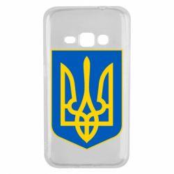 Чехол для Samsung J1 2016 Герб неньки-України