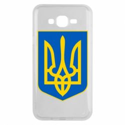 Чехол для Samsung J7 2015 Герб неньки-України
